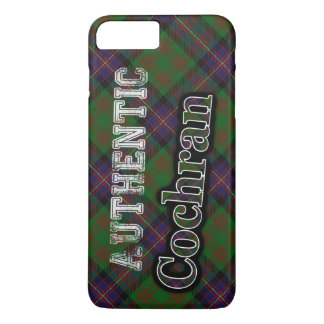 Authentic Clan Cochran Scottish Tartan Design iPhone 7 Plus Case