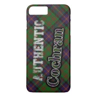 Authentic Clan Cochran Scottish Tartan Design iPhone 7 Plus Case