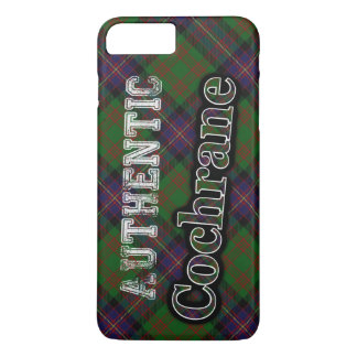 Authentic Clan Cochrane Scottish Tartan Design iPhone 7 Plus Case