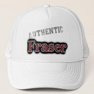 Authentic Clan Fraser Scottish Tartan Name Trucker Hat