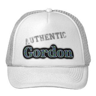 Authentic Clan Gordon Scottish Tartan Name Trucker Hat