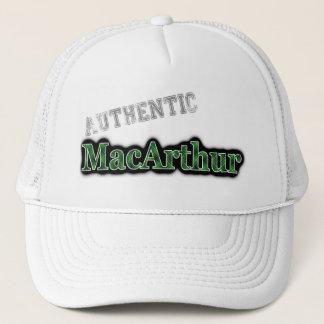 Authentic Clan MacArthur Scottish Tartan Name Trucker Hat
