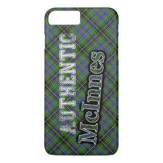 Authentic Clan McInnes Scottish Tartan Design iPhone 7 Plus Case