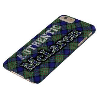 Authentic Clan McLaren Scottish Tartan Design Barely There iPhone 6 Plus Case