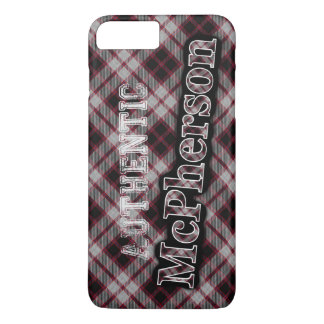 Authentic Clan McPherson Scottish Tartan Design iPhone 7 Plus Case