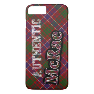 Authentic Clan McRae Scottish Tartan Design iPhone 7 Plus Case