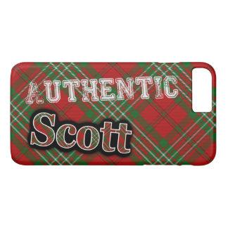 Authentic Clan Scott Scottish Tartan Design iPhone 7 Plus Case