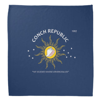 Authentic Conch Republic AVOID FAKES Bandana