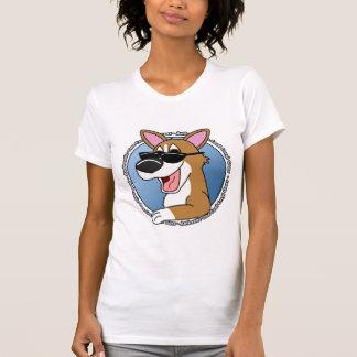 Authentic Cool Pembroke Welsh Corgi Ladies T-Shirt
