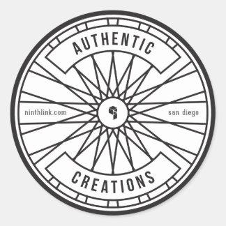 Authentic Creations Classic Round Sticker
