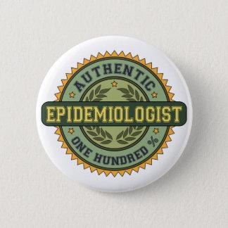 Authentic Epidemiologist 2 Inch Round Button