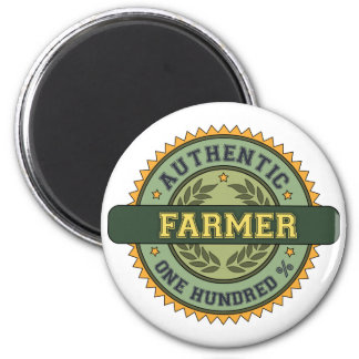 Authentic Farmer Magnet