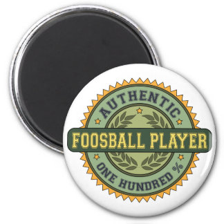 Authentic Foosball Player Magnet