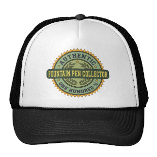 Authentic Fountain Pen Collector Mesh Hats