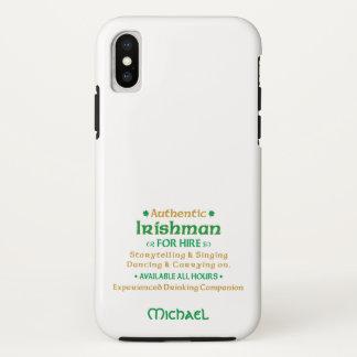 Authentic Irishman For Hire Funny Case-Mate iPhone Case