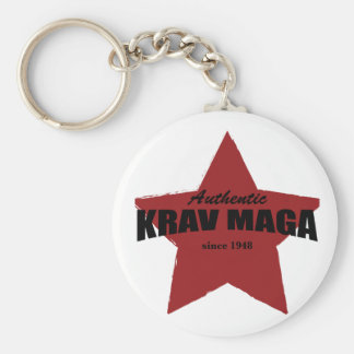 Authentic Krav Maga since 1948 Keychain