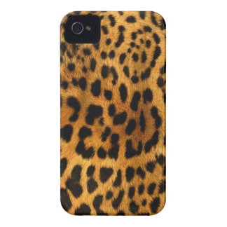 Authentic Leopard Fur Texture iPhone 4 Cases