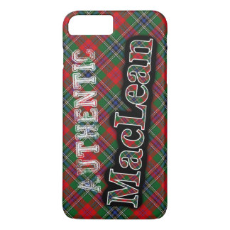 Authentic MacLean Scottish Tartan Design Case
