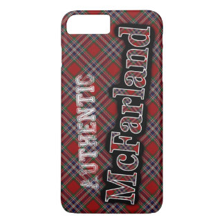 Authentic McFarland Scottish Tartan Design Case