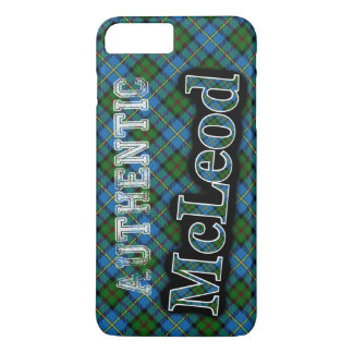 Authentic McLeod Scottish Tartan Design Case