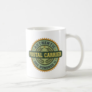 Authentic Postal Carrier Coffee Mug