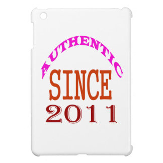 Authentic Since 2011 Birthday Designs Case For The iPad Mini