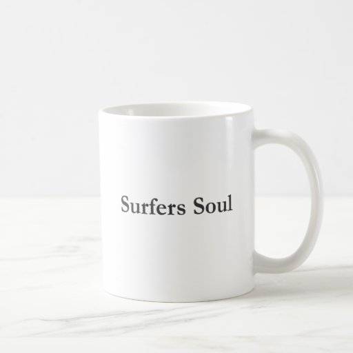 Authentic Surfers Soul Merchandise Coffee Mugs