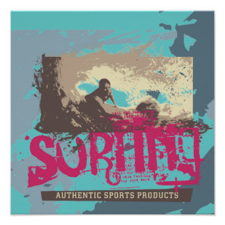 Authentic Surfing T shirts and Gifts Print