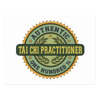 Authentic Tai Chi Practitioner Postcard