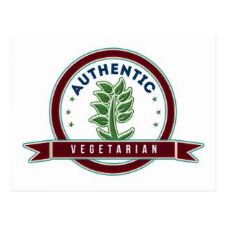 Authentic Vegetarian Postcards