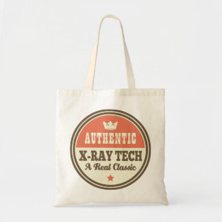 Authentic X-ray Tech Vintage Gift Idea Budget Tote Bag