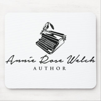Author Annie Rose Welch Logo Mousepad