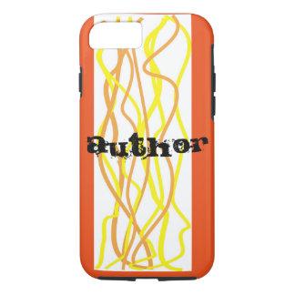 Author Cell Phone Cover - orange