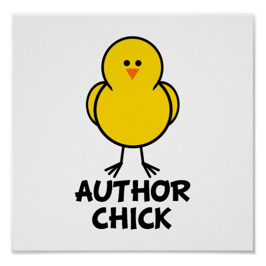Author Chick Poster