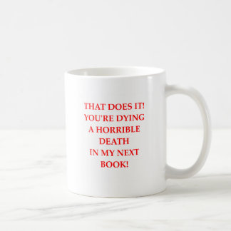 AUTHOR COFFEE MUG