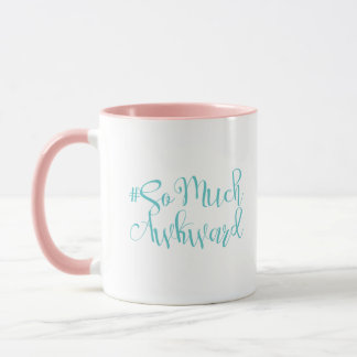 Author # Collection: So Much Awkward Coffee Mug