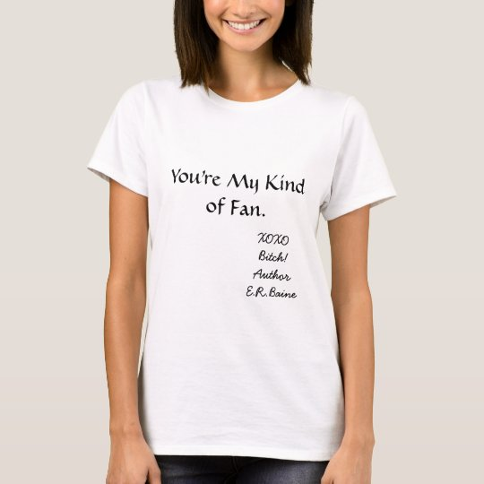 Author E.R. Baine's Lady T T-Shirt