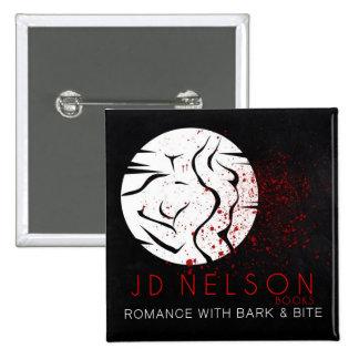 Author JD Nelson Square Button