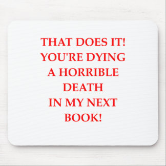 AUTHOR MOUSE PAD