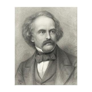Author Nathaniel Hawthorne 1883 Canvas Print