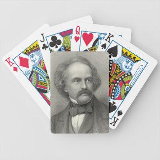 Author Nathaniel Hawthorne 1883 Bicycle Card Deck