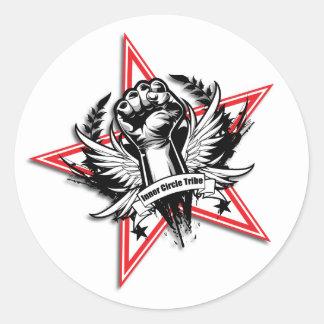 Authority Networker Star Fist Sticker