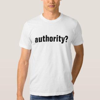 authority? tee shirts