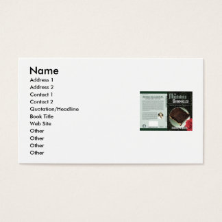 Author's choice business card