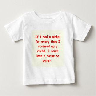 author's cliche baby T-Shirt