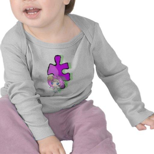 Autism Angel Design T Shirt