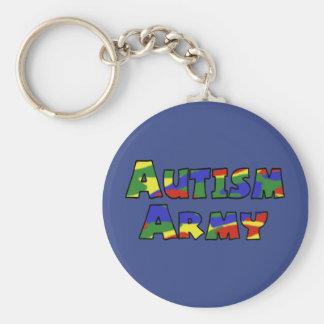 Autism Army Key chain