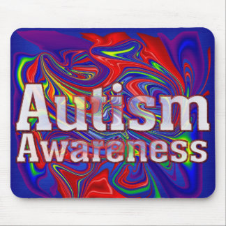 Autism Awarenes Mouse Pad