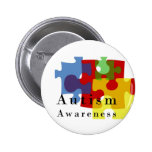 Autism Awareness 2 Inch Round Button