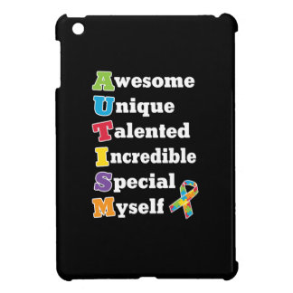 Autism Awareness Acronym iPad Mini Cover